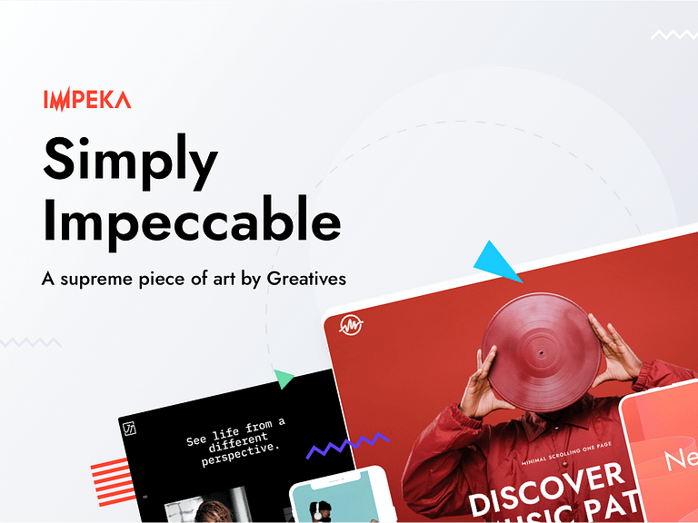 Impeka Premium WP Theme, WPBakery page builder, Elementor, Gutenberg - Powered by Greatives